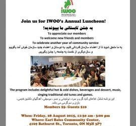 IWOO luncheon