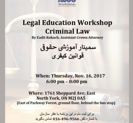 Criminal Law Workshop