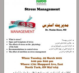 Stress Managment Workshop
