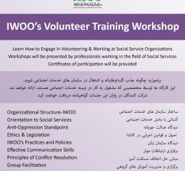Volunteer Training Workshop