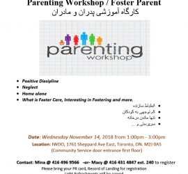 Parenting Workshop / Foster Parent