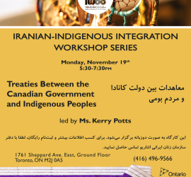 Iranian-Indigenous Integration Workshop Series- Workshop 2