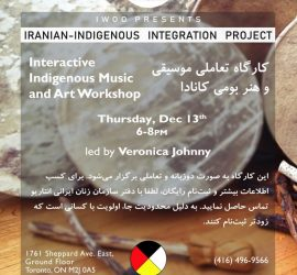 Iranian-Indigenous Integration Workshop Series- Workshop 3