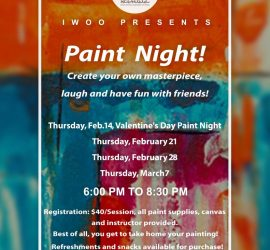 IWOO Paint Night!