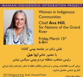 Iranian-Indigenous Integration Workshop Series- Workshop 6