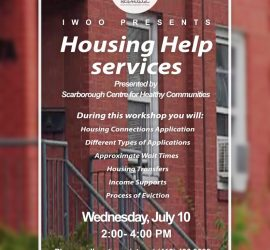 Housing Help Service Workshop