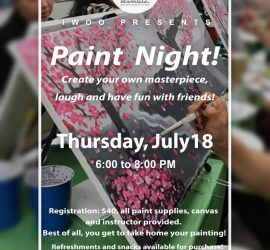 IWOO Paint Night