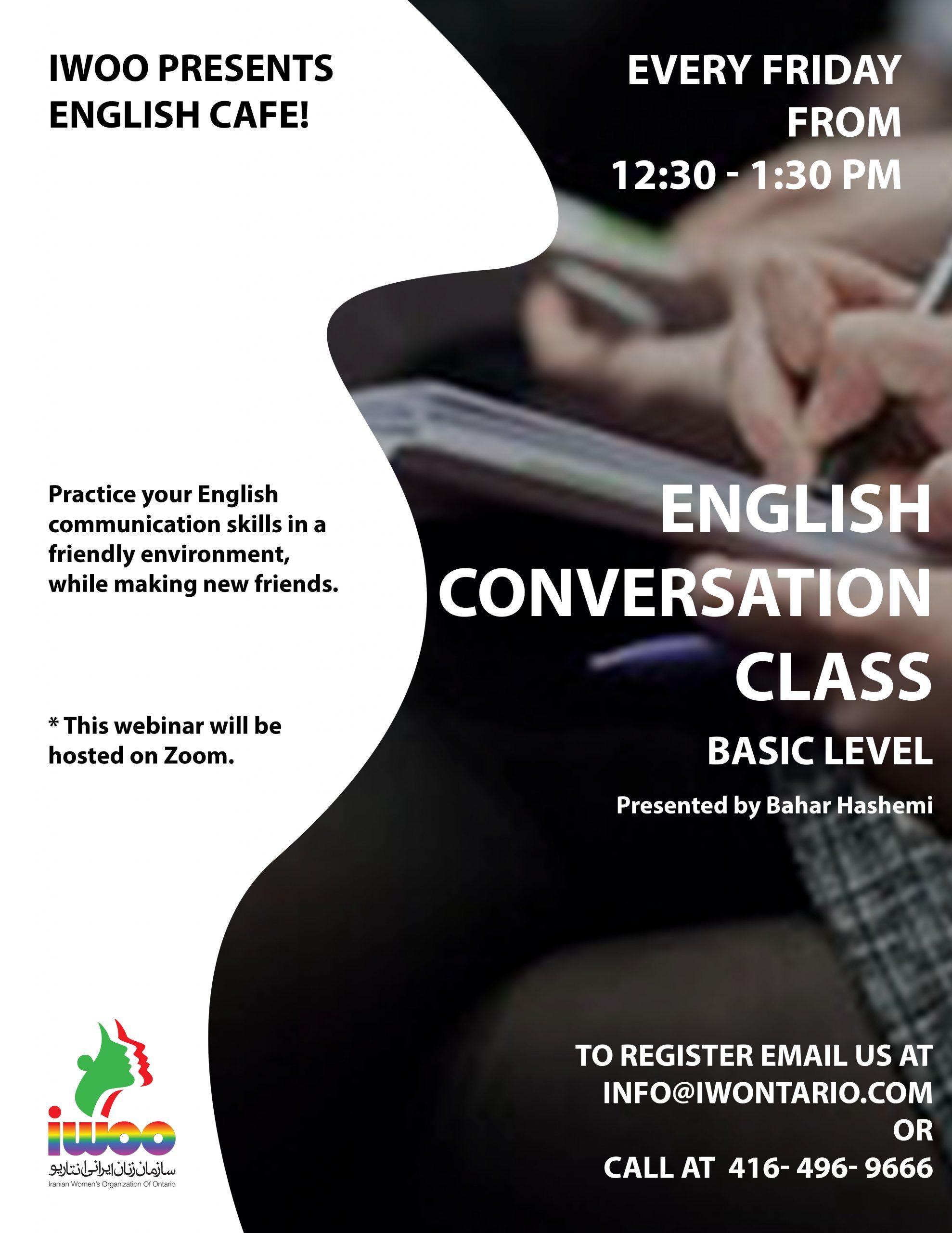 English Cafe - Basic Level