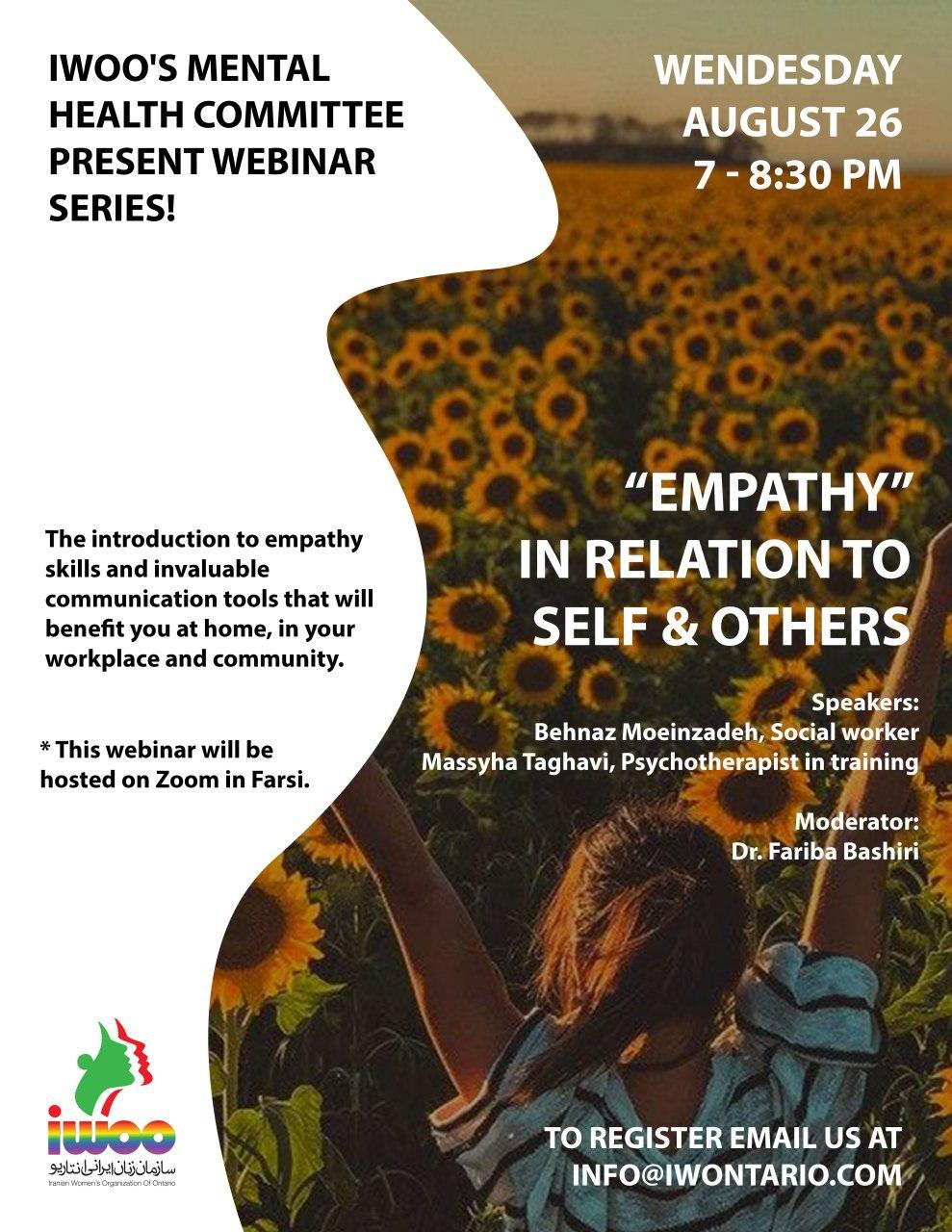 """Empathy"" in relation to self & others"
