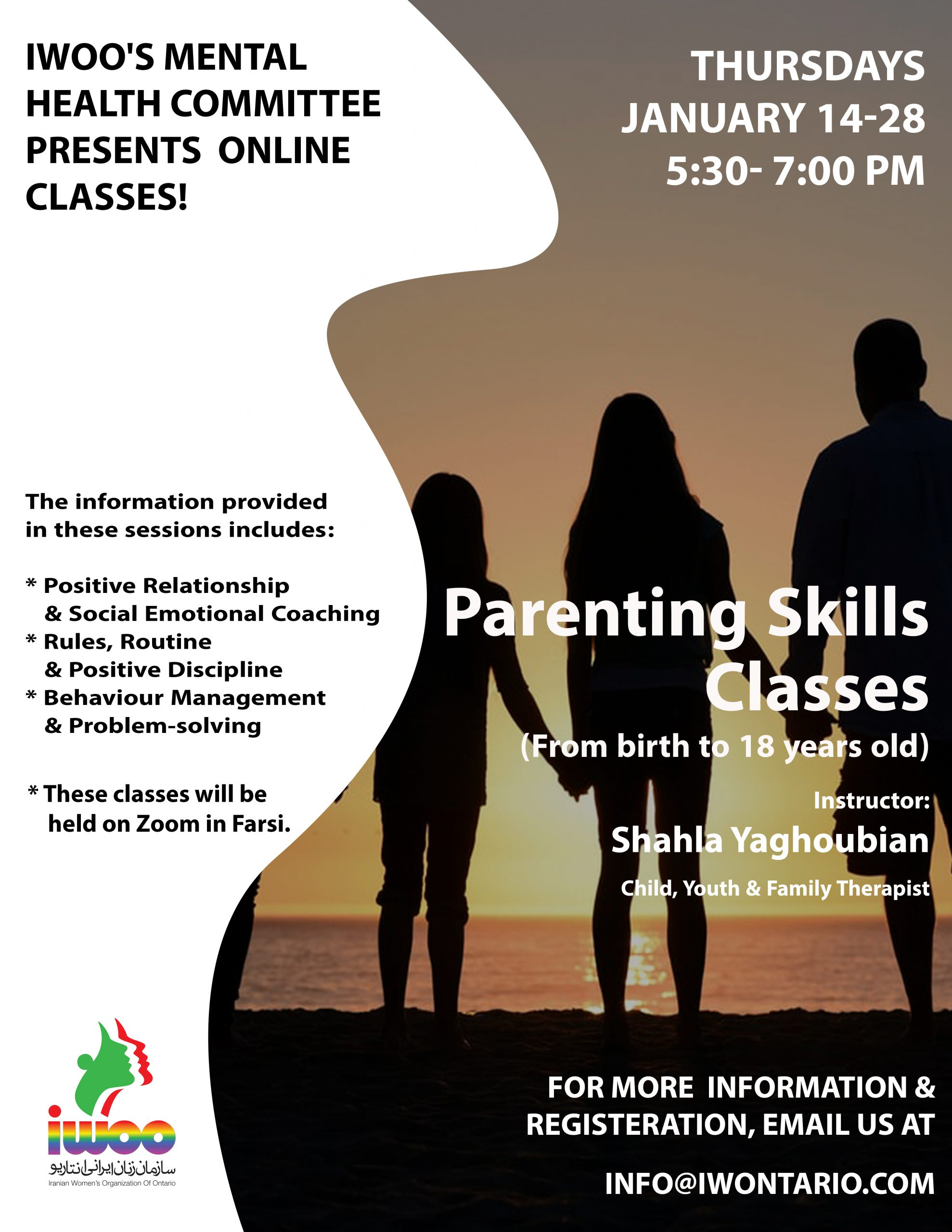 Parenting Skills Classes