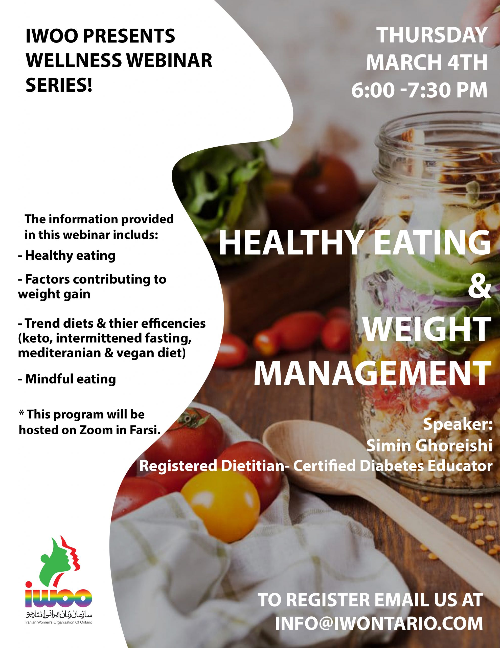 Healthy Eating & Weight Management