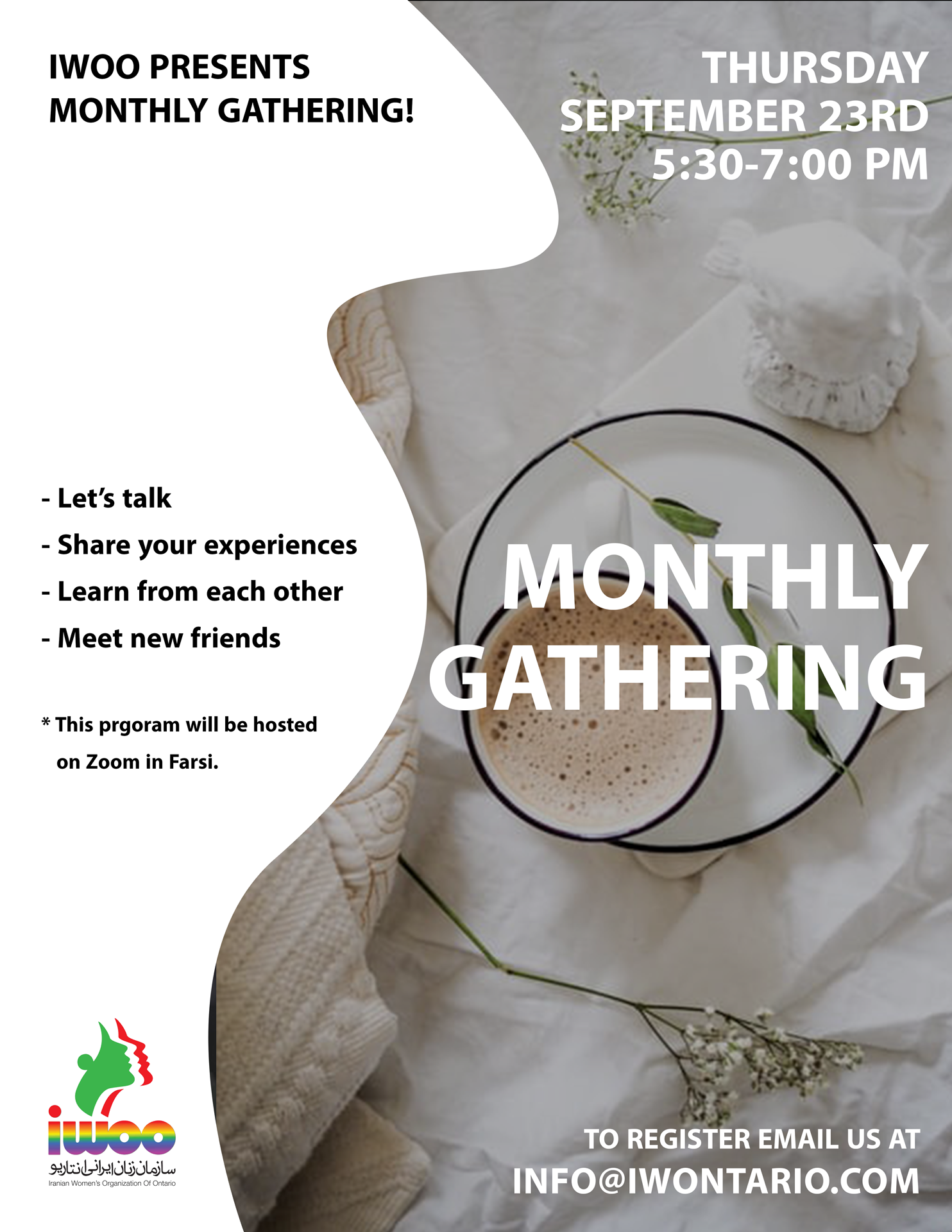Monthly Gathering September