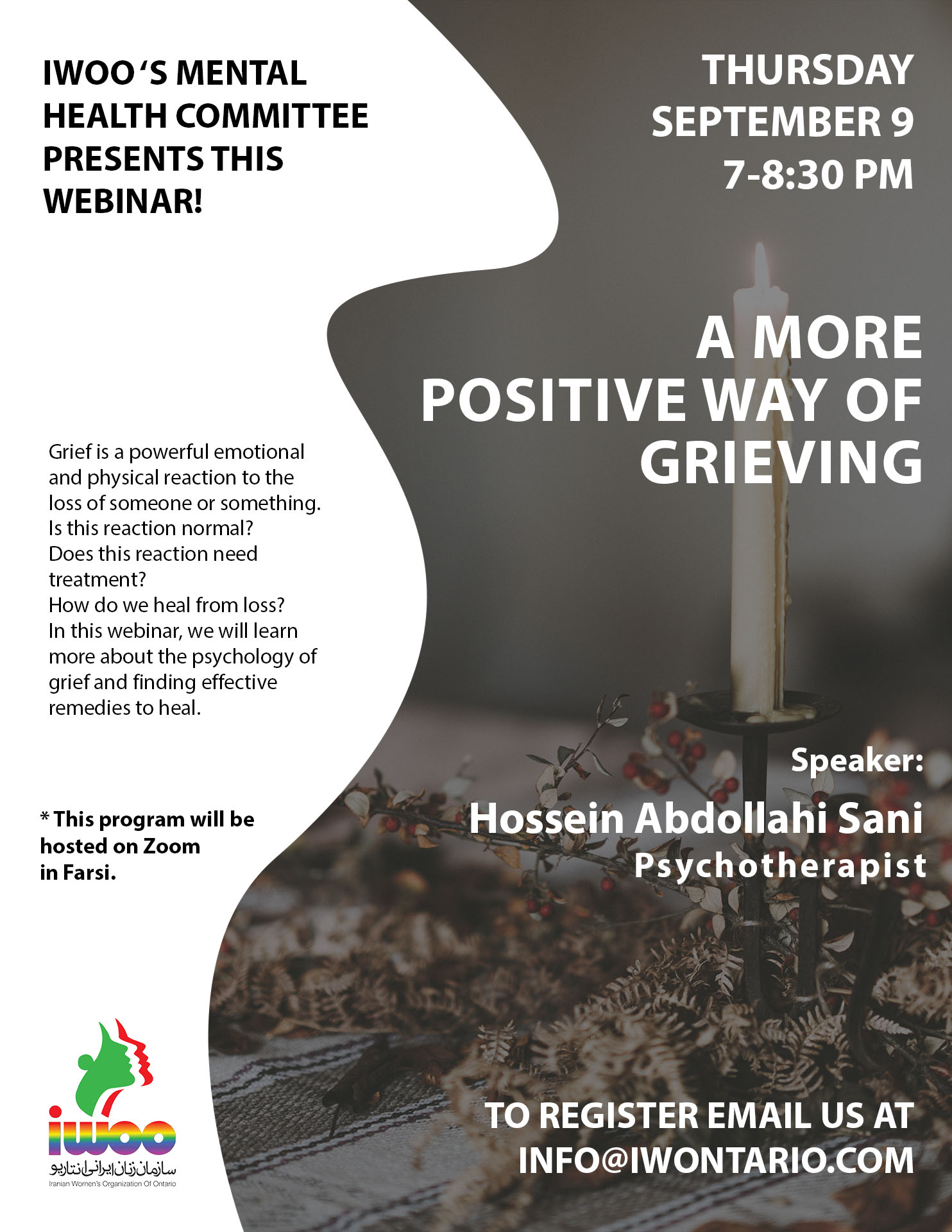 A More Positive Way Of Grieving!